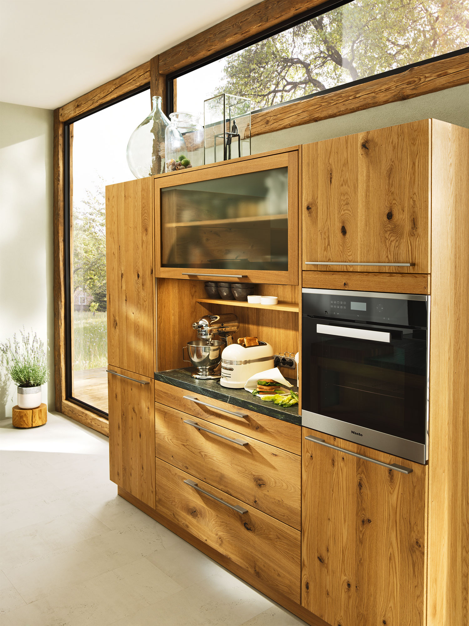Holzküchen erle  TEAM 7 Naturholzküche Loft bei BÖHM Interieur