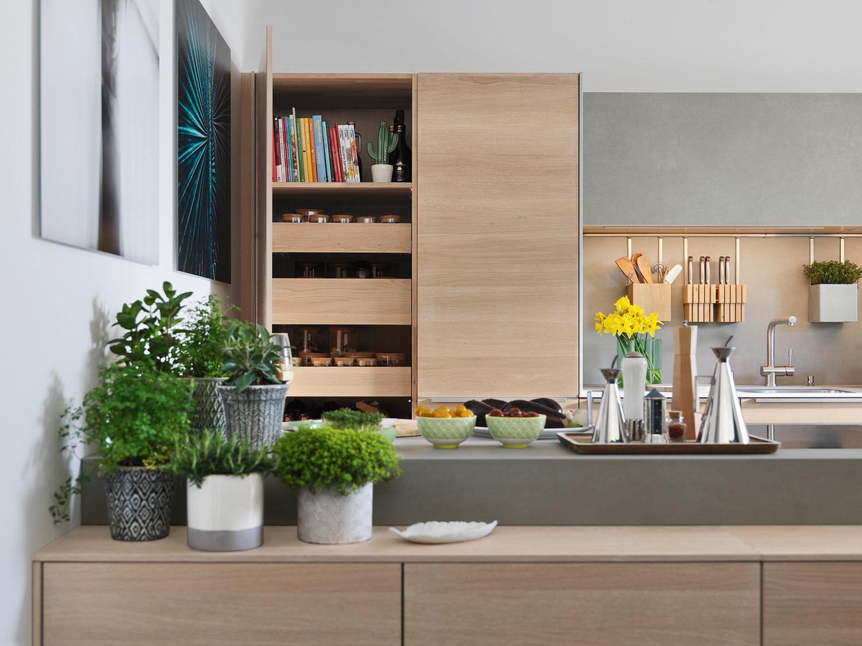 team 7 naturholzk che filigno bei b hm interieur. Black Bedroom Furniture Sets. Home Design Ideas