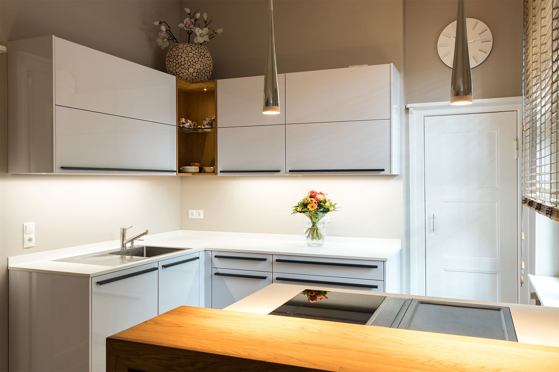 referenzk che leicht k chen largo team 7 linee eiche. Black Bedroom Furniture Sets. Home Design Ideas